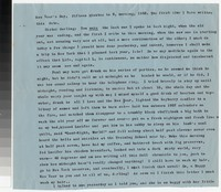 Letter from Katherine Anne Porter to Gay Porter Holloway, January 01, 1958