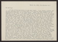 Letter from Katherine Anne Porter to Albert Erskine, March 18, 1938