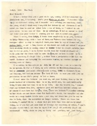 Letter from Katherine Anne Porter to Kenneth Durant, July 19, 1955