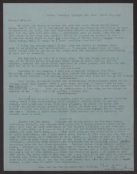 Letter from Katherine Anne Porter to Albert Erskine, March 27, 1941
