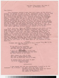 Letter from Katherine Anne Porter to Gay Porter Holloway, February 13, 1950