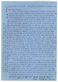 Letter from Katherine Anne Porter to John Malcolm Brinnin, May 17, 1960