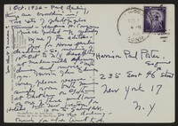Letter from Katherine Anne Porter to Paul Porter Jr., October 01, 1956