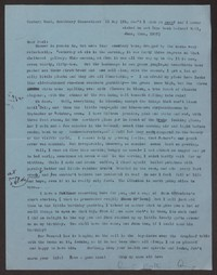 Letter from Katherine Anne Porter to Paul Porter Jr., May 11, 1957