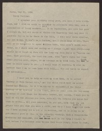 Letter from Katherine Anne Porter to Harrison B Porter, May 31, 1934