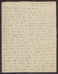 Letter from Katherine Anne Porter to Eugene Pressly, May 12, 1932