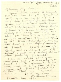 Letter from Katherine Anne Porter to Glenway Wescott, July 14, 1944