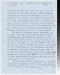 Letter from Katherine Anne Porter to Gay Porter Holloway, July 02, 1964