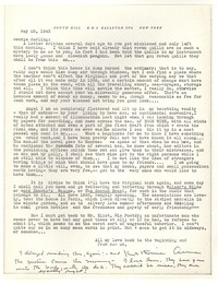 Letter from Katherine Anne Porter to George Platt Lynes, May 25, 1943