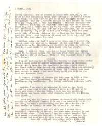 Letter from Katherine Anne Porter to Isabel Bayley, March 02, 1954