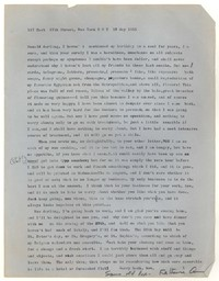 Letter from Katherine Anne Porter to Donald Elder, May 18, 1955