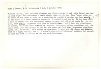 Letter from Katherine Anne Porter to Barbara Harrison Wescott, October 03, 1962