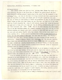 Letter from Katherine Anne Porter to Edith Sitwell, October 03, 1956