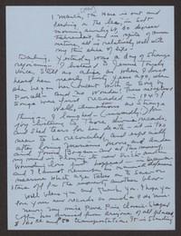 Letter from Katherine Anne Porter to Paul Porter Jr., March 01, 1974