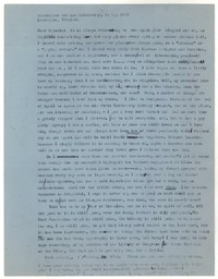 Letter from Katherine Anne Porter to John Malcolm Brinnin, May 14, 1959