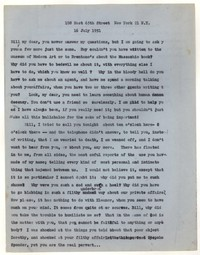 Letter from Katherine Anne Porter to William Goyen, July 16, 1951