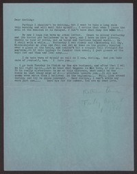 Letter from Katherine Anne Porter to Albert Erskine, August 08, 1941