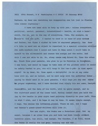 Letter from Katherine Anne Porter to Barbara Thompson Mueenuddin Davis, January 26, 1966