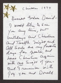 Letter from Katherine Anne Porter to David P. Heintze, December 25, 1974