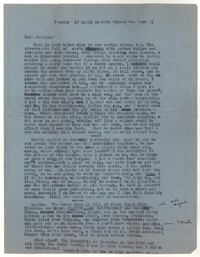 Letter from Katherine Anne Porter to William Goyen, April 10, 1951