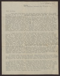 Letter from Katherine Anne Porter to Mary Alice Porter Hillendahl, circa September 10, 1937