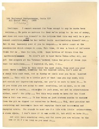 Letter from Katherine Anne Porter to Ford Maddox Ford and Janice Biala, November 01, 1933