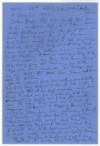 Letter from Katherine Anne Porter to William Humphrey, December 04, 1965