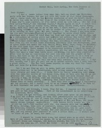 Letter from Katherine Anne Porter to Gay Porter Holloway, January 11, 1944