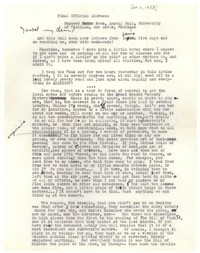 Letter from Katherine Anne Porter to Isabel Bayley, October 12, 1953