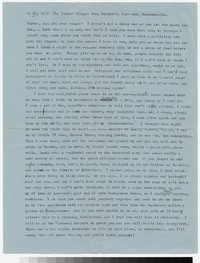 Letter from Katherine Anne Porter to Gay Porter Holloway, May 31, 1961