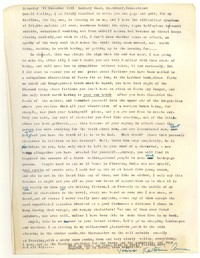 Letter from Katherine Anne Porter to Donald Elder, November 19, 1955