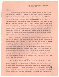 Letter from Katherine Anne Porter to William Goyen, July 14, 1951