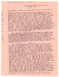 Letter from Katherine Anne Porter to William Goyen, July 18, 1951