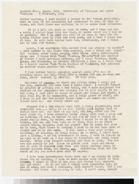 Letter from Katherine Anne Porter to Gay Porter Holloway, February 08, 1954