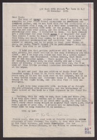 Letter from Katherine Anne Porter to Paul Porter Jr., November 29, 1951