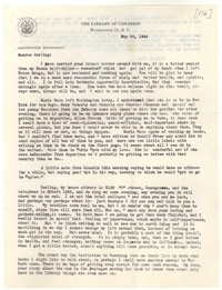 Letter from Katherine Anne Porter to Monroe Wheeler, May 24, 1944