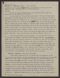 Letter from Katherine Anne Porter to Eugene Pressly, May 01, 1934