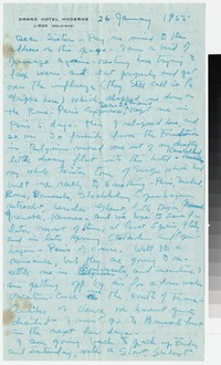 Letter from Katherine Anne Porter to Gay Porter Holloway, January 26, 1955