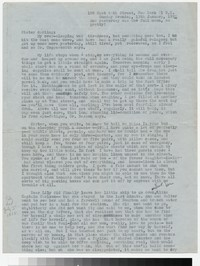 Letter from Katherine Anne Porter to Gay Porter Holloway, January 13, 1952