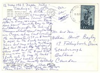 Letter from Katherine Anne Porter to Isabel Bayley and W. Hewitt Bayley, May 12, 1963