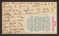 Letter from Katherine Anne Porter to Gay Porter Holloway, January 03, 1960