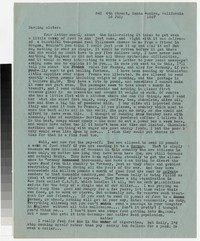 Letter from Katherine Anne Porter to Gay Porter Holloway, July 16, 1947