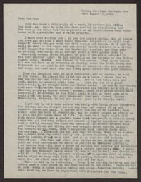 Letter from Katherine Anne Porter to Albert Erskine, August 09, 1940