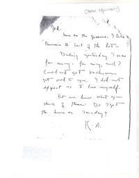 Letter from Katherine Anne Porter to Genevieve Taggard, April 03, 1924