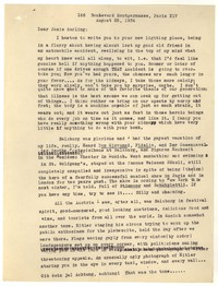 Letter from Katherine Anne Porter to Josephine Herbst, August 25, 1934