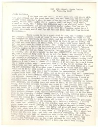 Letter from Katherine Anne Porter to Josephine Herbst, January 28, 1947