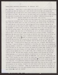 Letter from Katherine Anne Porter to Cora Posey, February 28, 1956