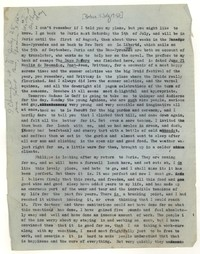 Letter from Katherine Anne Porter to William Goyen, July 05, 1952