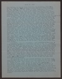 Letter from Katherine Anne Porter to Paul Porter Jr., March 26, 1949