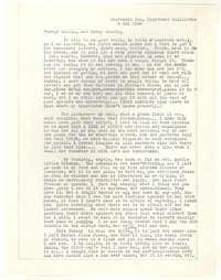 Letter from Katherine Anne Porter to George Platt Lynes and Randy (?), May 09, 1948
